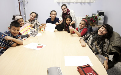 Apoyo escolar en el Alojamiento Alternativo de Cocina Económica