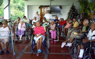 Hogar de ancianos en Colombia proyecto de cooperación al desarrollo de Cocina Económica