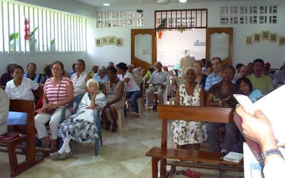 Hogar de ancianos en Colombia, cooperación al desarrollo de Cocina Económica