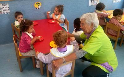 Comedor del Centro de Educación Infantil Entrepuentes de Cocina Económica