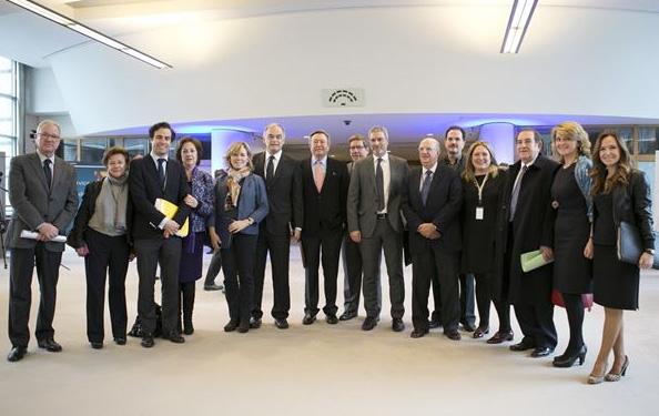Cocina recibe el premio Ciudadano Europeo en Bruselas