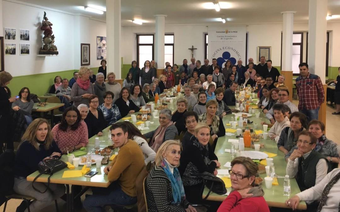 Cocina Económica celebra el Día del Voluntariado