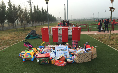 «Rugby por juguetes» a favor de Cocina Económica