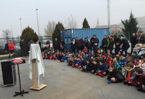 Rugby Rioja, recogida de juguetes para Cocina Económica