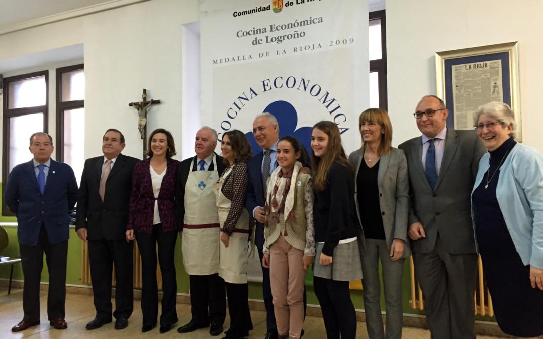"""Entrega """"Delantales solidarios 2015"""" de Cocina – TVR –"""