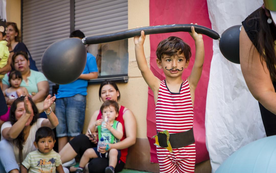 Una fiesta circense despide a los niños que pasan de la guardería al colegio