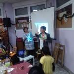 Durante la celebración se hizo un cuento interactivo.