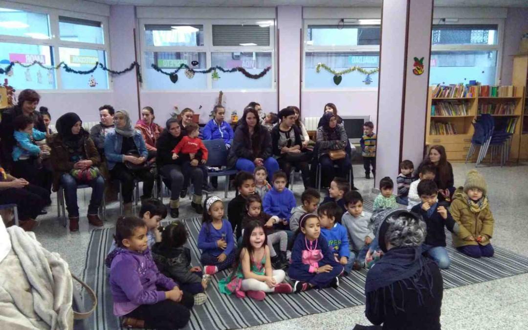 Visita de la bruja befana a los niños italianos