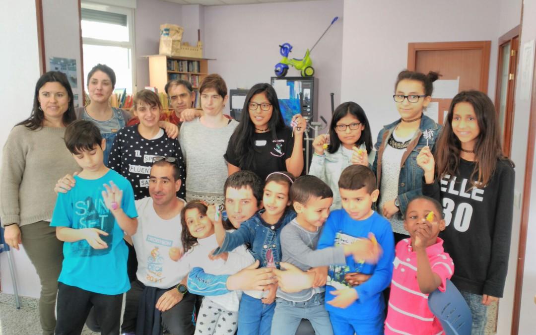 Los niños, protagonistas de un taller de arcilla polimérica
