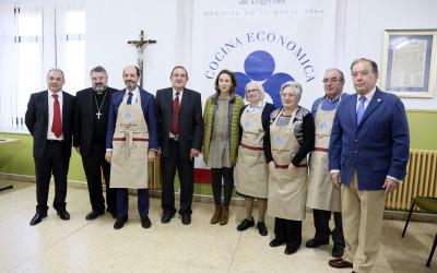 Cocina Económica entrega sus Delantales Solidarios